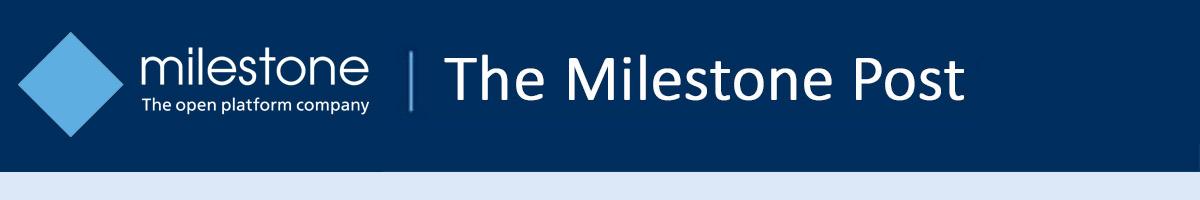 The Milestone Post header