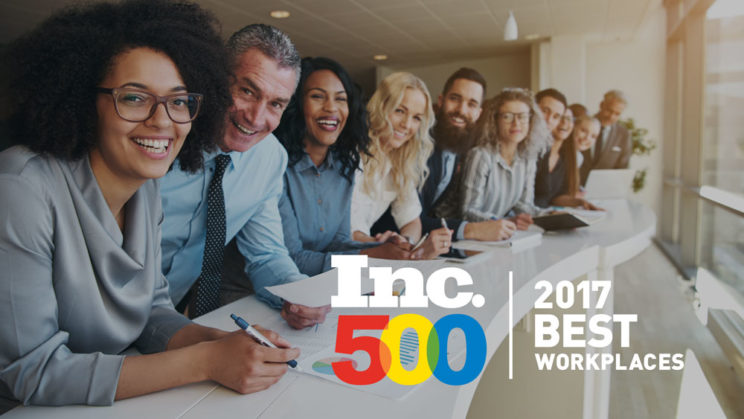 Inc 500 Workplace Award BCDVideo