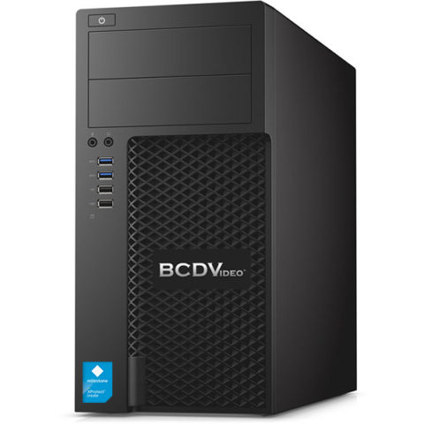 4-Bay Tower Milestone Video Workstation