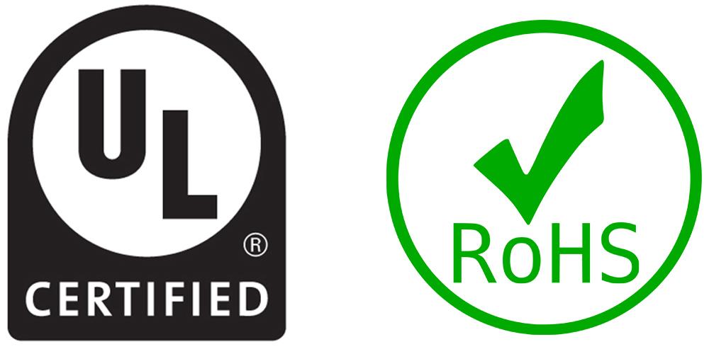 UL/RoHS Certified
