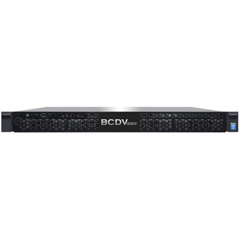 Professional 1U 4-Bay Rackmount Access Control Server