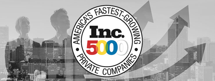 Inc. 5000 fastest growing company