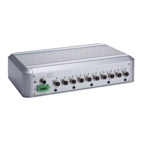 2 Bay 8 Port PoE Rail Server