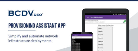 BCDVideo Provisioning Assistant App