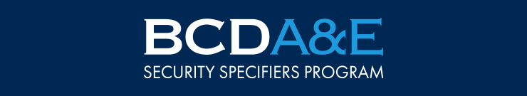 BCD A&E Security Specifiers Program logo